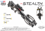 Tenpoint Stealth NXT Crossbow Full Package